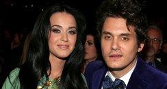 Katy Perry and John Mayer at the 2013 Grammy Award