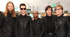 Maroon 5 arrive at the Grammy Awards 2013