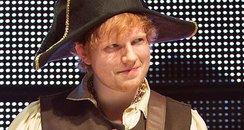 Ed Sheeran Performs In LA