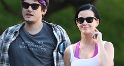 John Mayer and Katy Perry hik