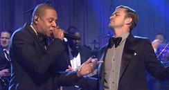 Justin Timberlake and Jay-Z Saturday Night Live