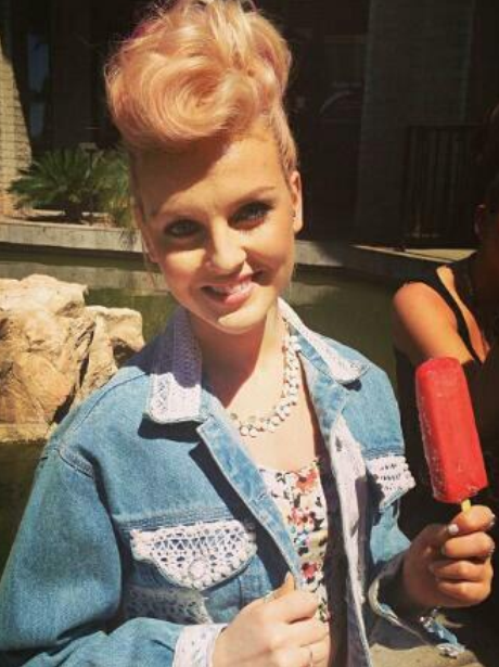 Little Mix's Perrie Edwards Goes Old School With A New Hair Do - Twitter Pictures - Capital