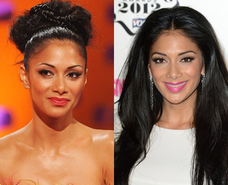 Nicole Scherzinger Hair: Up Or Down?