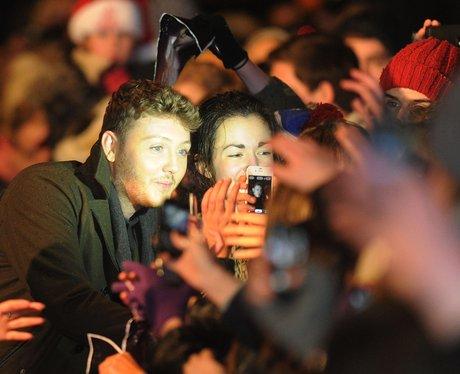 James Arthur and fans