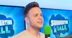 Olly Murs backstage at the Summertime Ball 2013