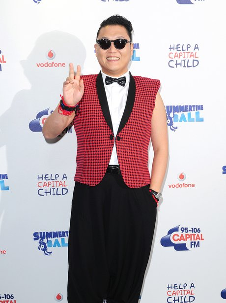 PSY Red Carpet At The Summertime Ball 2013