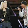 Gwen Stefani and Pharrell