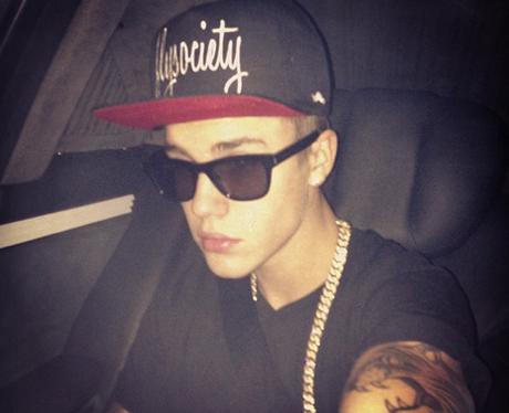Justin Bieber selfie