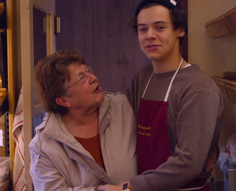 One Direction's Harry Styles has bum pinched by Barbara in This Is Us Trailer