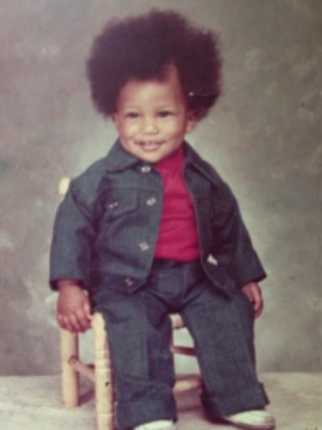 Pharrell Williams baby picture