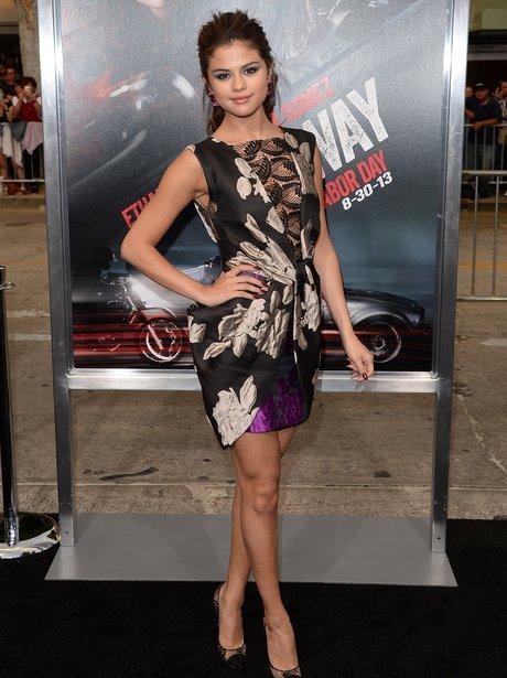 Selena Gomez at her 'Getaway' Premiere