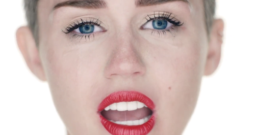 Miley Cyrus - Wrecking Ball Video