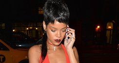 Rihanna shows off her new mullet