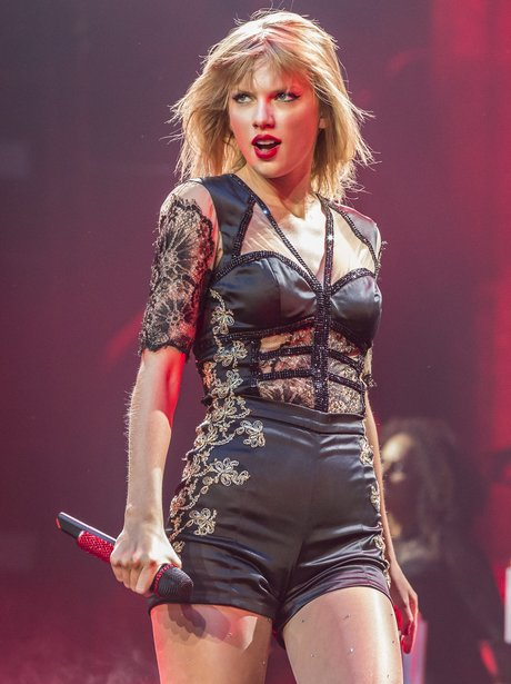 Taylor Swift on her RED Tour