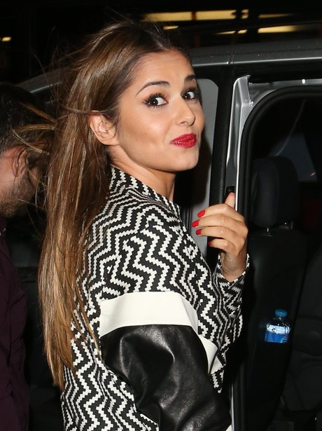 Cheryl Cole out to dinner with Tre Holloway