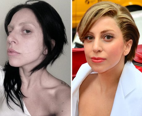 Lady Gaga No Make-Up