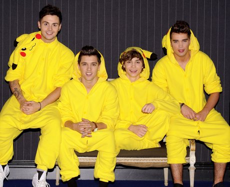 Omg Union J Have To Wear Their Pikachu Pokemon Onesies To
