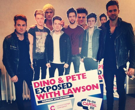 Lawson backstage at #CapitalExposed