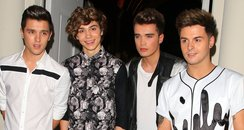 Union J attending the Claire's Accessories party