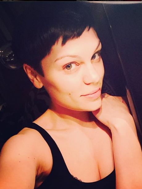 Jessie J Black Hair Instagram