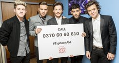 One Direction Typhoon Aid