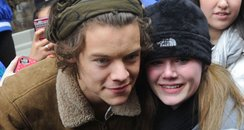Harry Styles with fans