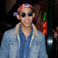 Jordan from Rizzle Kicks in fancy dress
