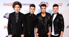 Union J Red Carpet Jingle Bell Ball 2013