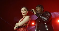 Jessie J & Dizzee Rascal at the Jingle Bell Ball 2