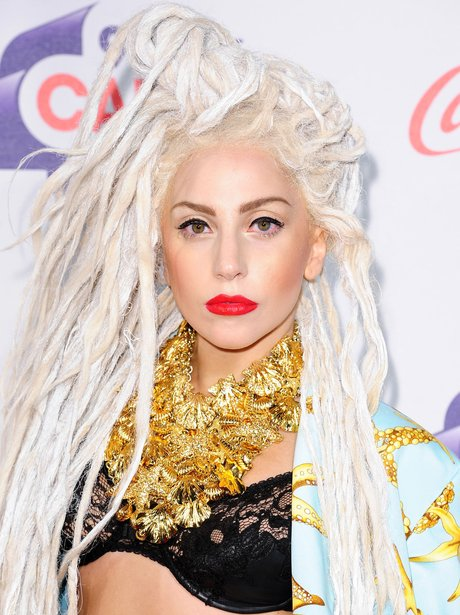 Lady Gaga Red Carpet at the Jingle Bell Ball 2013