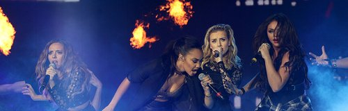 Little Mix at the Jingle Bell Ball 2013: Live