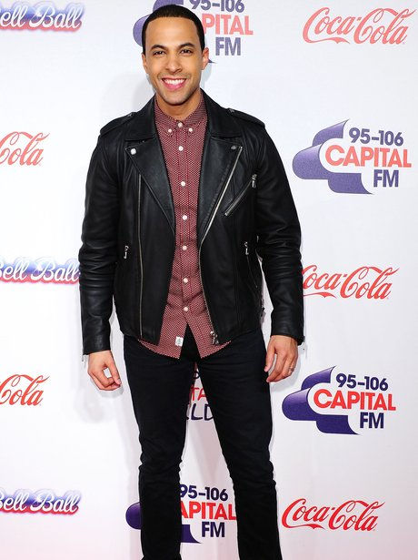 Marvin Humes Red Carpet Jingle Bell Ball 2013