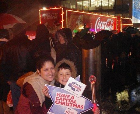 The Coca Cola Truck comes to Southampton