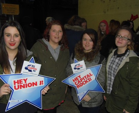 Union J At Manchester Apollo