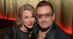 Taylor Swift and Bono Golden Globes After Partt