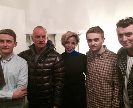 Disclosure, Sting and Mary J Blige