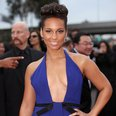 Alicia Keys at the Grammy Awards 2014
