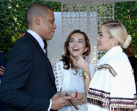 Rita Ora and Jay Z Roc Nation Party
