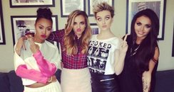 little mix, perrie with short hair