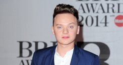 Conor Maynard at the Brit Awards 2104