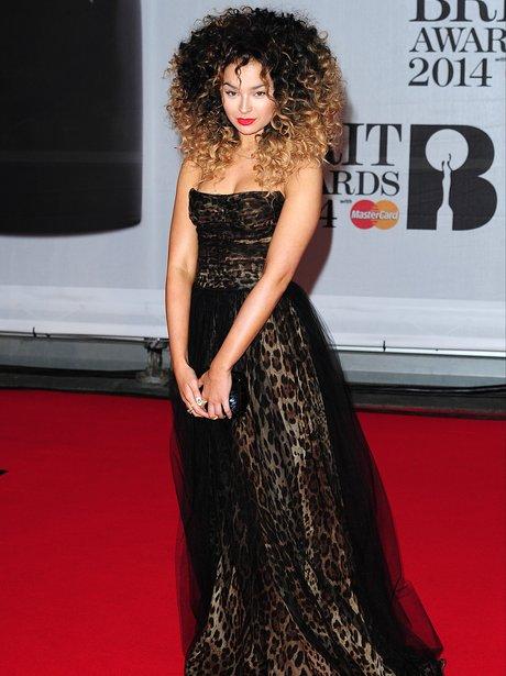 Ella Eyre at the Brit Awards 2014