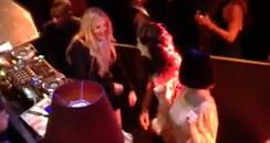 Ellie Goulding DJs With Katy Perry And Lorde At BR