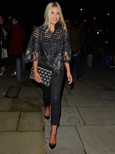 Mollie King Fashion Week 2014