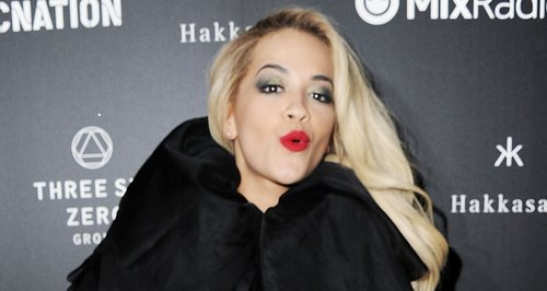 Rita Ora at the Brits Roc Nation aftershow party