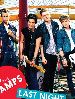 The Vamps Last Night Artwork