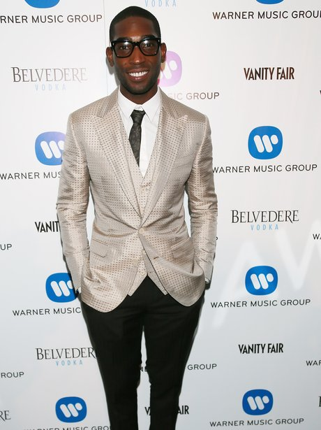 Tinie Tempah at the Brit Awards 2014 aftershow
