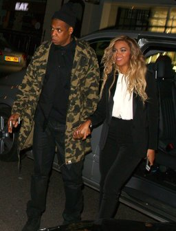 Beyonce and Jay Z on a date