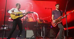 Coldplay prform at iTunes SXSW music festival