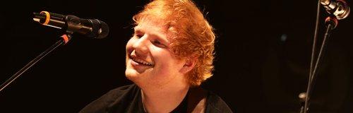 Ed Sheeran performing for Teenage cancer Trust