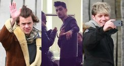 One Direction Filming Video
